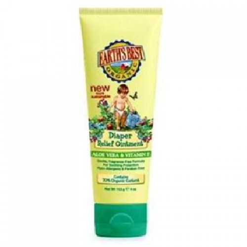 Earths Best Baby Care Diaper Relief Ointment (4x4OZ)