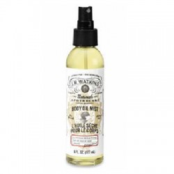 J R Watkins Coconut/Honey Body Oil Mist (4x6OZ)