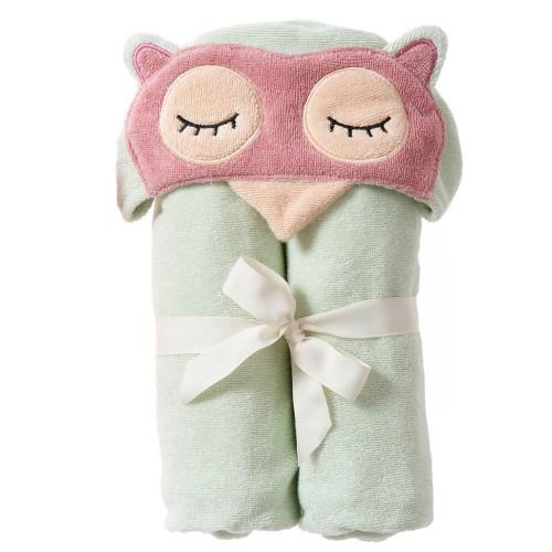 Sleepy Owl Bath Wrap