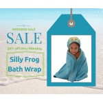 Silly Frog Bath Wrap