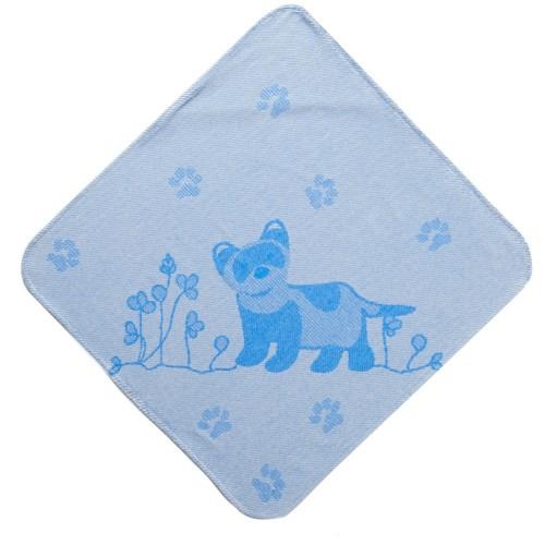 Blue Ferret Hooded Towel