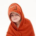 Happy Lemur Hooded Towel