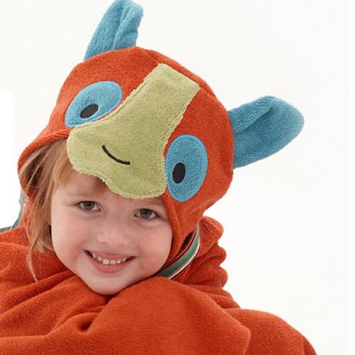 Happy Lemur Bath Wrap