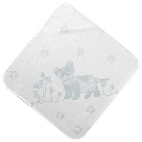 Grey Ferret Hooded Towel