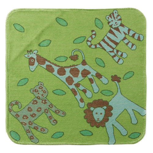 Green Jungle Hooded Towel