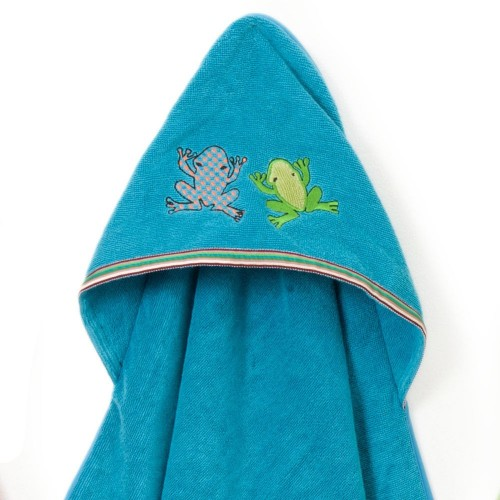 Silly Frog Hooded Towel