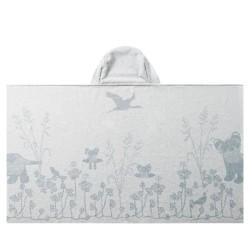 Grey Ferret Bath Wrap