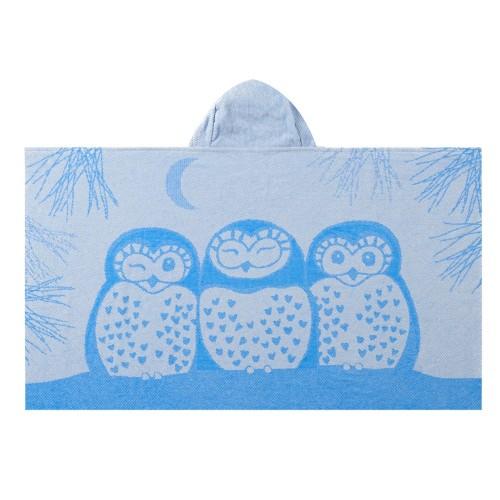 Blue Owl Bath Wrap