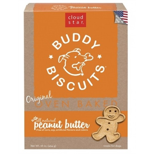 Cloud Star® Buddy Biscuits™ - Peanut Butter Madness 16 oz. - 12 packages