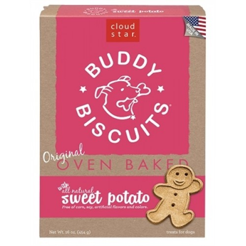 Cloud Star® Buddy Biscuits™ - Sweet Potato Madness 16 oz. - 12 packages