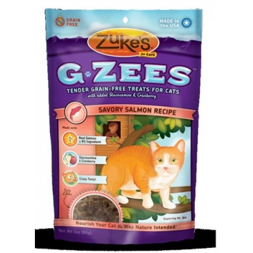 Zukes® G-Zees For Cats - Salmon 3 oz. - 12 packages