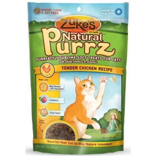 Zuke's Natural Purrz for Cats - Chicken 3 oz. - 12 packages