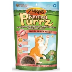 Zuke's Natural Purrz for Cats - Salmon 3 oz. - 12 packages
