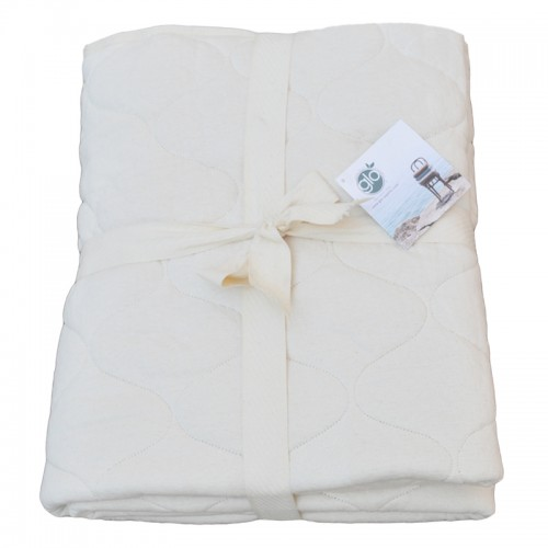 USA Made Double Quilted Cotton Mattress Pad
