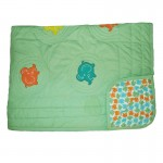 Elephant Quilted Blanket