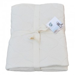 USA Made Double Quilted Crib Pad