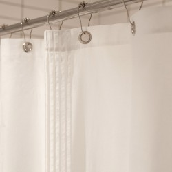 Voile Shower Curtain