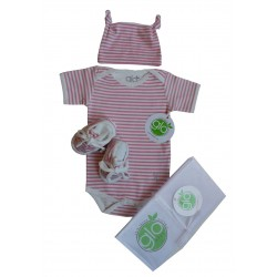 Stripe Onesie Gift Set