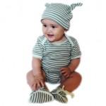 Stripe Onesie Gift Set