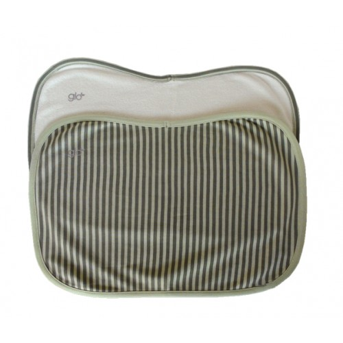 Stripe Burp Cloth Set