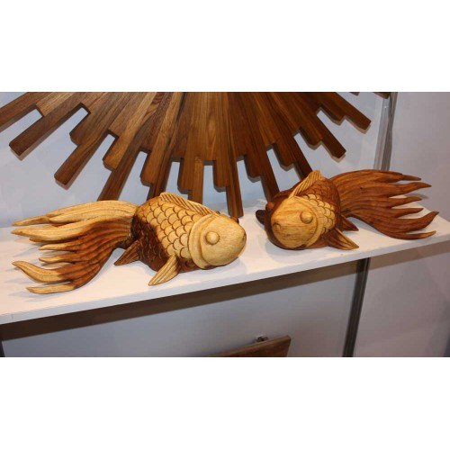 Carved Puff Fish