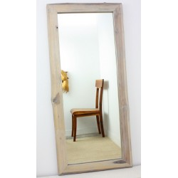 Mirror Ne Teak Rectangle