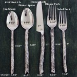 Bark Flatware 5 PC Setting
