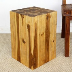 Teak Block Hollow