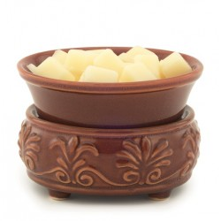 Candle & Wax Melt Warmer in Red Rock