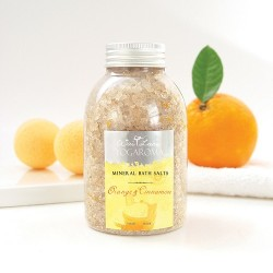 Orange & Cinnamon Mineral Bath Salt