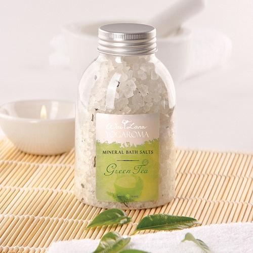 Green Tea Mineral Bath Salt