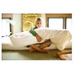 Body Pillow w/ case Organic Kapok